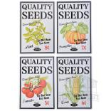 שלט מתכת NG27 | QUALITY SEEDS